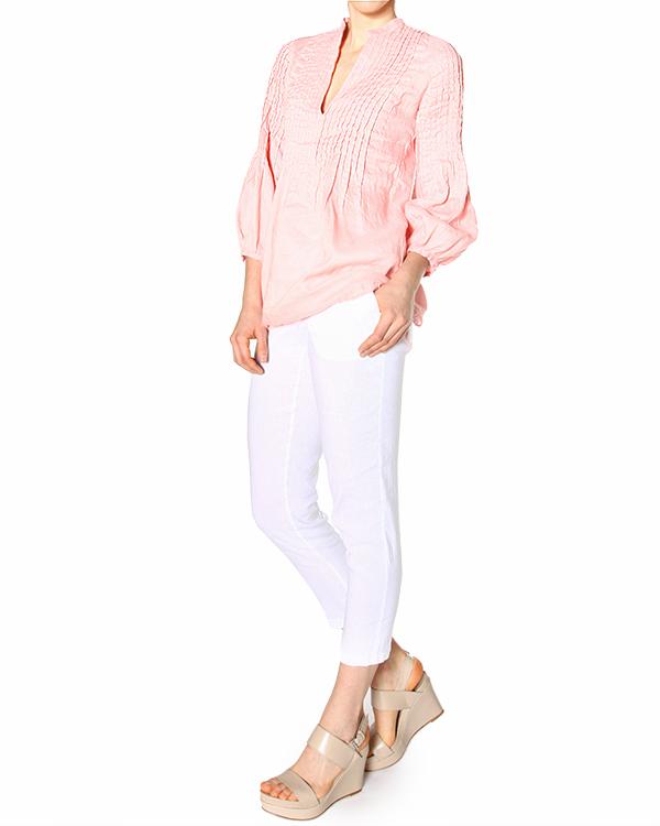 женская блуза 120% lino, сезон: лето 2015. Купить за 2500 руб. | Фото 2