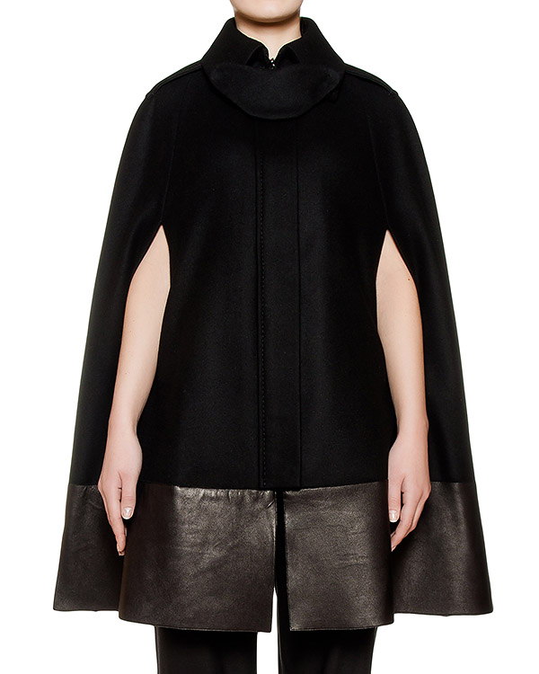 Sonia Speciale из плотной шерсти с кожаной отделкой артикул 169501 марки Sonia Speciale купить за 41400 руб.