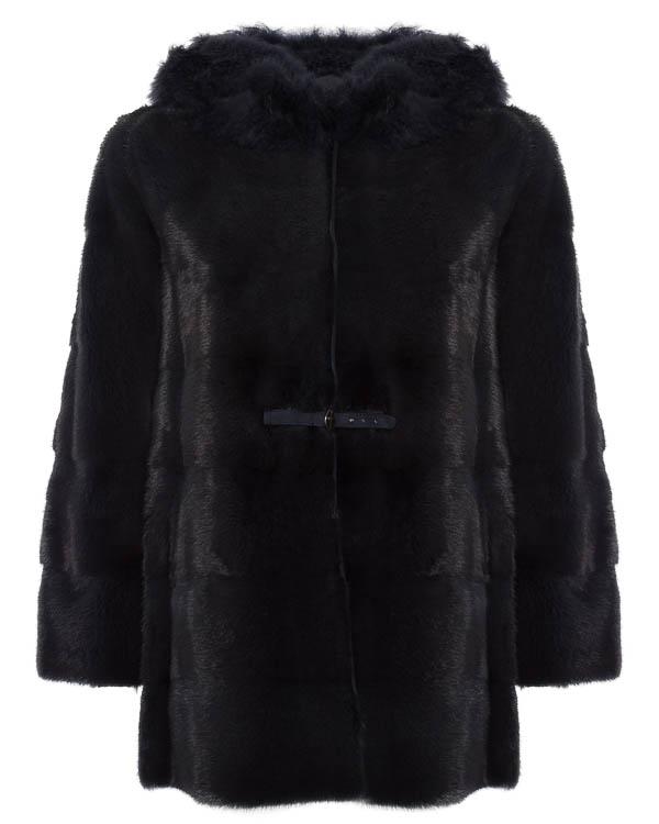 мех.пальто с капюшоном  артикул 16M908 марки Manzoni купить за 273000 руб.