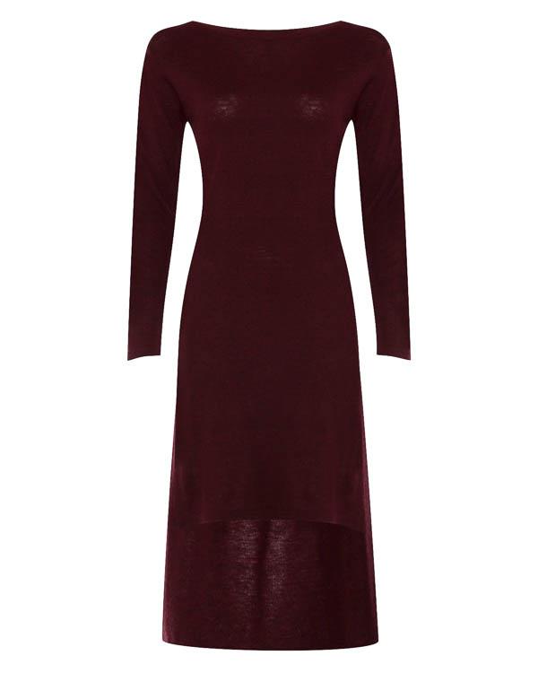 платье облегающего силуэта асимметричной длины  артикул 17WK13 марки Colour 5 Power купить за 6700 руб.