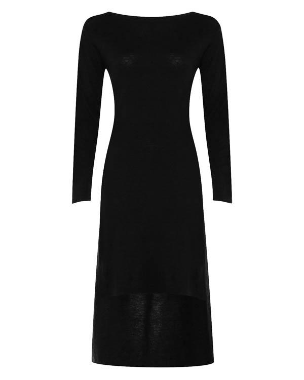 платье облегающего силуэта асимметричной длины  артикул 17WK13 марки Colour 5 Power купить за 4800 руб.