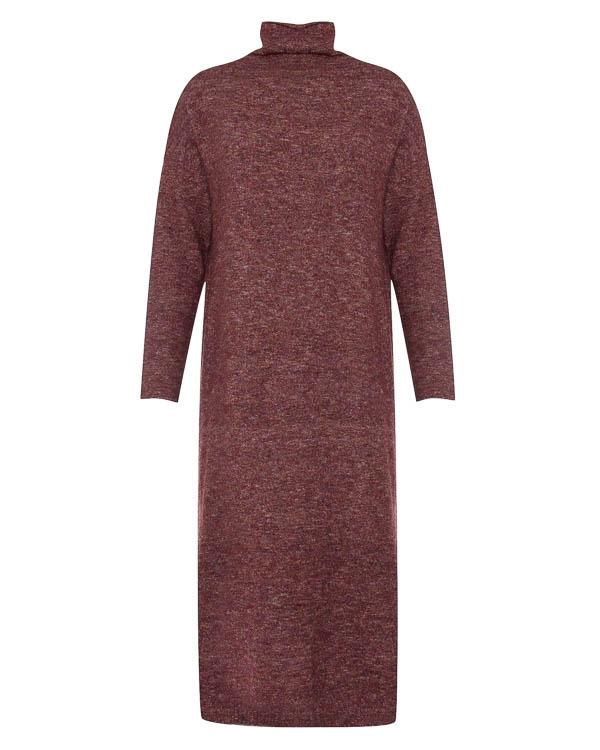 платье миди из мягкого трикотажа  артикул 17WK26 марки Colour 5 Power купить за 6700 руб.