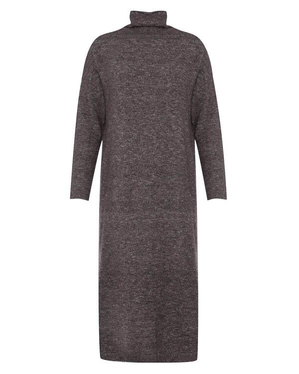 платье миди из мягкого трикотажа  артикул 17WK26 марки Colour 5 Power купить за 4800 руб.