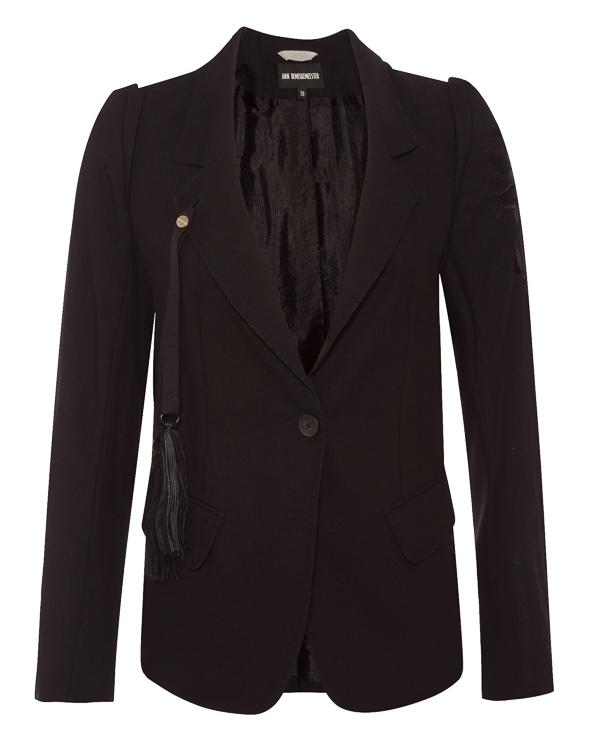 Ann Demeulemeester из костюмной шерсти с вышивкой артикул 18011010P170 марки Ann Demeulemeester купить за 103400 руб.