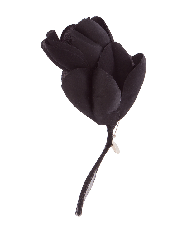 Ann Demeulemeester из шелка в виде цветка  артикул  марки Ann Demeulemeester купить за 10600 руб.