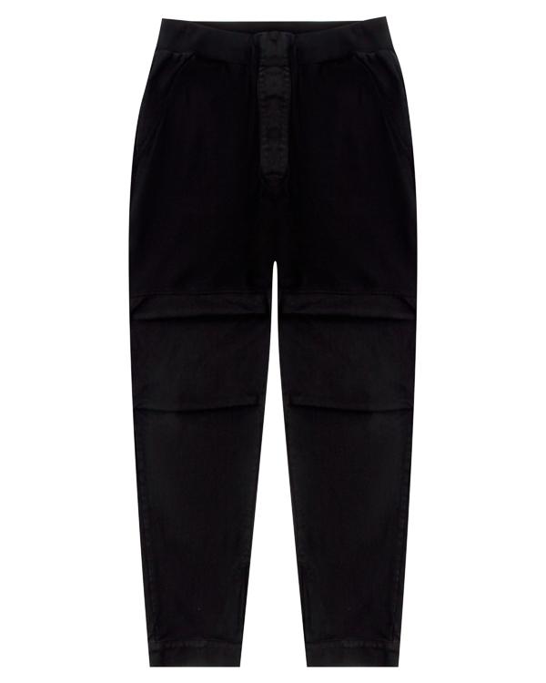 брюки расслабленного кроя из трикотажного хлопка артикул 18MDRIF50 марки Andrea Ya'aqov купить за 13900 руб.
