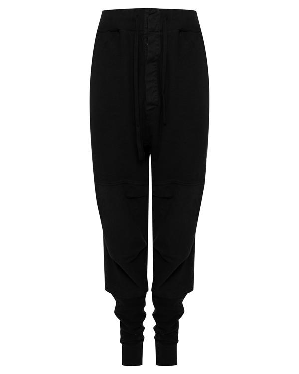 брюки расслабленного кроя из трикотажного хлопка  артикул 18MDRIF51 марки Andrea Ya'aqov купить за 13300 руб.