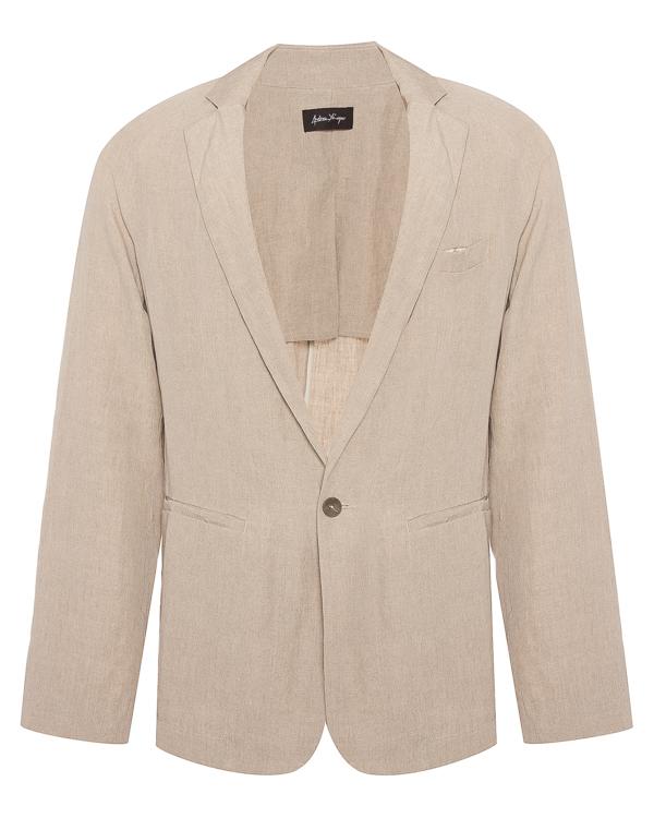 пиджак прямого силуэта из льна  артикул 18MFAB25 марки Andrea Ya'aqov купить за 16900 руб.