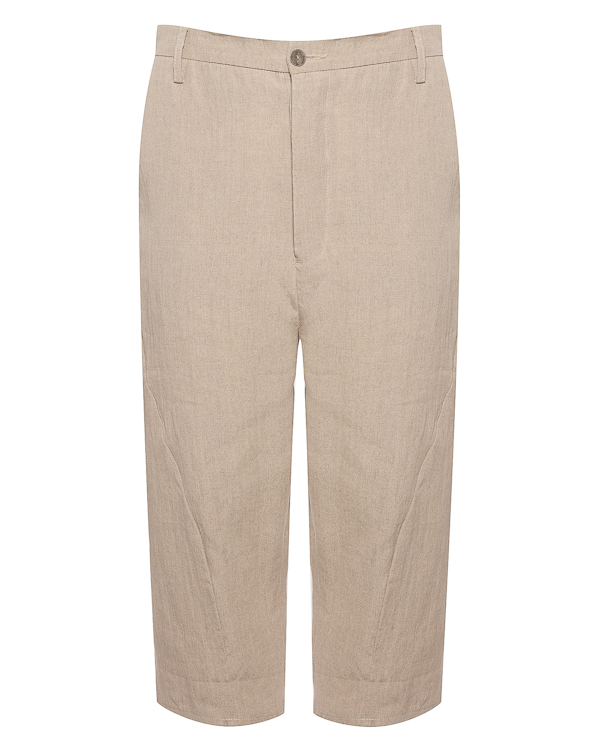 брюки укороченного силуэта из льна  артикул 18MFAB28 марки Andrea Ya'aqov купить за 22000 руб.