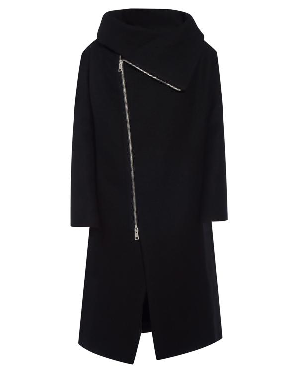 пальто из шерсти и льна артикул 18MGIN14 марки Andrea Ya'aqov купить за 34600 руб.