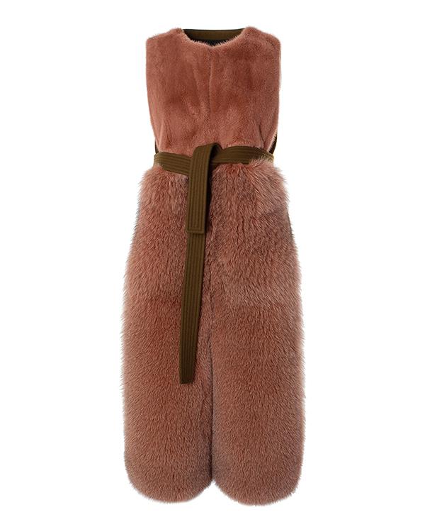 BLANCHA из натурального меха с отделкой шерстью артикул  марки BLANCHA купить за 201000 руб.