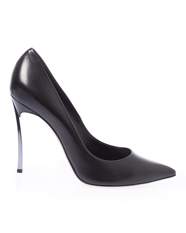 Casadei из кожи на стальном каблуке  артикул  марки Casadei купить за 62900 руб.