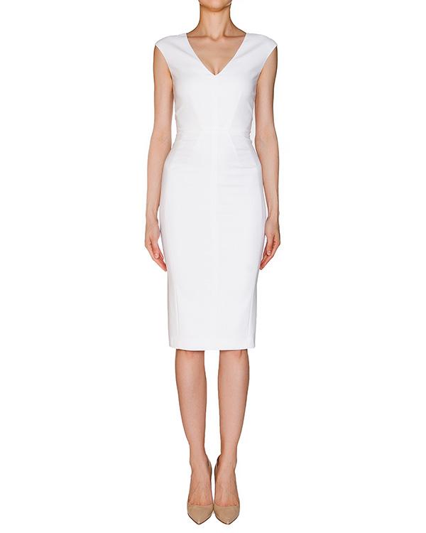 платье приталенного кроя из эластичной хлопковой ткани артикул 1H9310 марки Antonio Marras купить за 16500 руб.