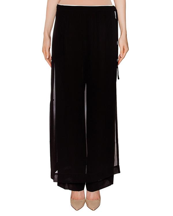 брюки из легкой полупрозрачной ткани артикул 1H9563 марки Antonio Marras купить за 10900 руб.
