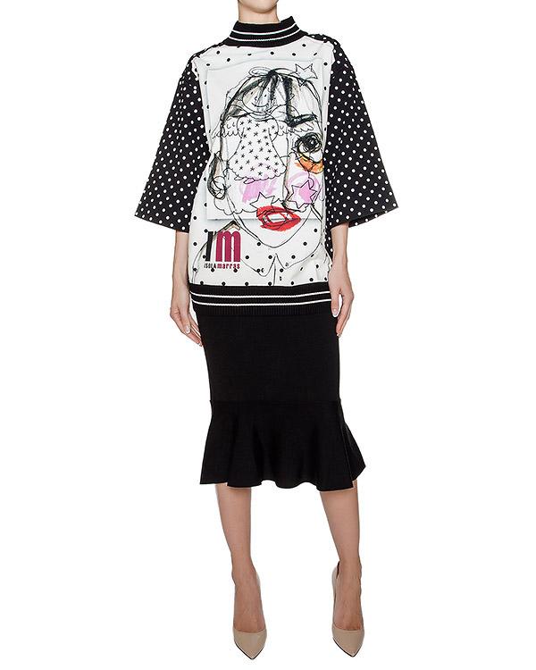 женская юбка Antonio Marras, сезон: зима 2016/17. Купить за 11900 руб. | Фото $i