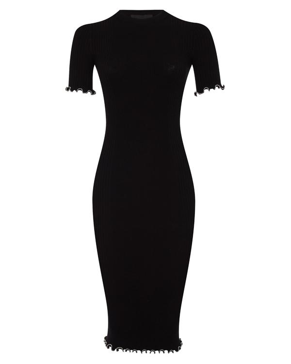 платье облегающего силуэта с отделкой бусинами артикул 1K276083K6 марки Alexander Wang купить за 24200 руб.