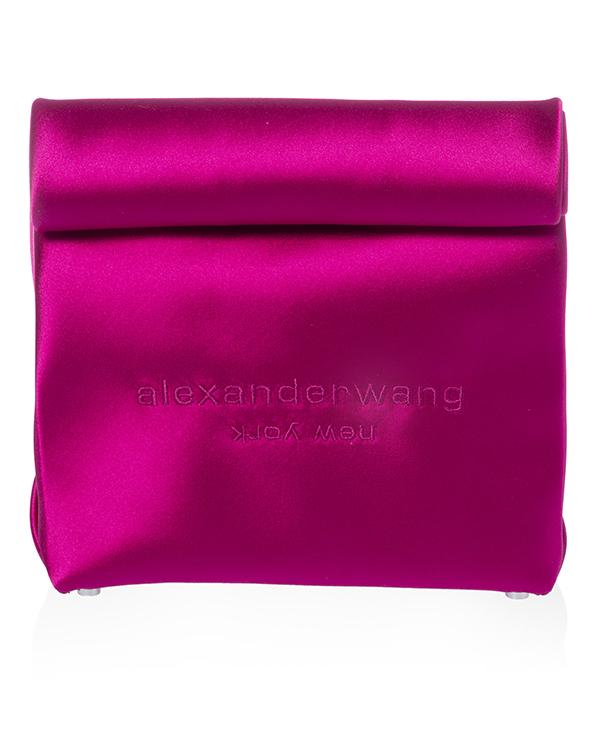 Alexander Wang Lunch Bag из атласного сатина  артикул  марки Alexander Wang купить за 23900 руб.