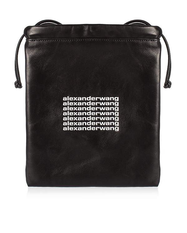 Alexander Wang -мешок из кожи с логотипом бренда артикул  марки Alexander Wang купить за 21400 руб.