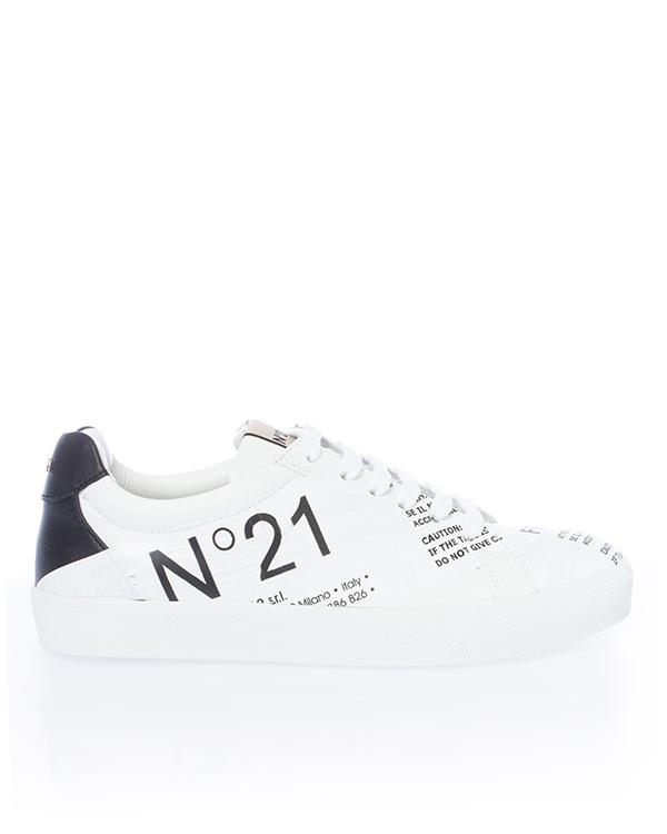 № 21 из кожи с логотипом бренда артикул  марки № 21 купить за 47200 руб.