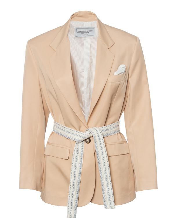 Forte Dei Marmi Couture из текстиля с поясом  артикул  марки Forte Dei Marmi Couture купить за 57900 руб.
