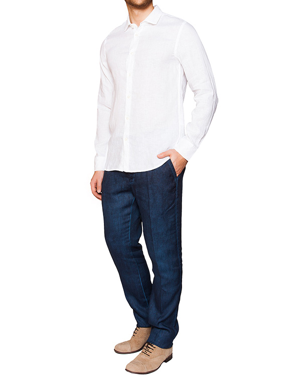 мужская брюки 120% lino, сезон: лето 2016. Купить за 5300 руб. | Фото $i