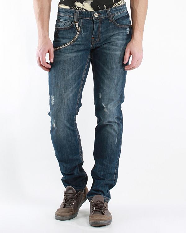 мужская джинсы FRANKIE MORELLO, сезон: лето 2012. Купить за 7200 руб. | Фото $i