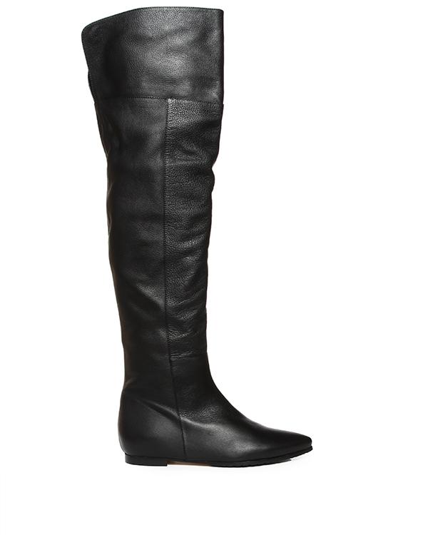 сапоги ботфорты из натуральнй кожи артикул 2336 марки ANDREA MILANO купить за 12600 руб.