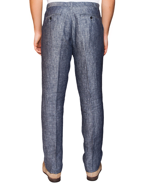 мужская брюки 120% lino, сезон: лето 2016. Купить за 5000 руб. | Фото $i