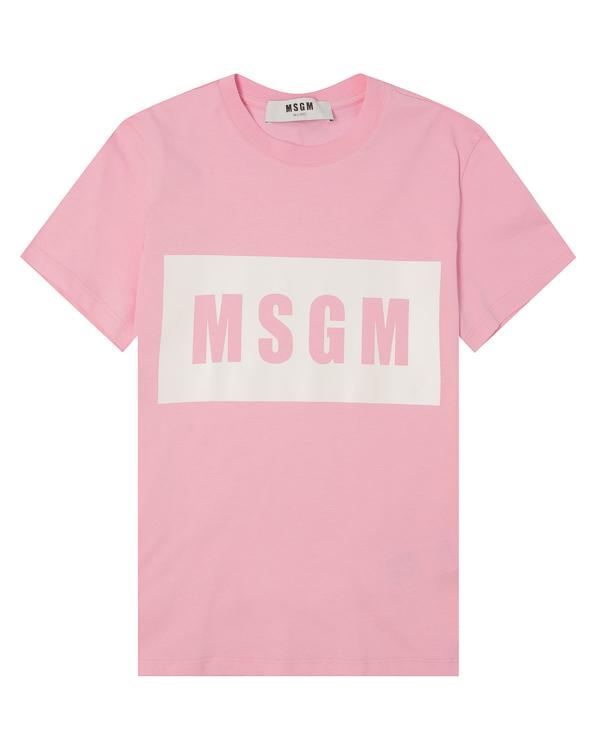 MSGM из хлопка с логотипом бренда  артикул  марки MSGM купить за 5400 руб.