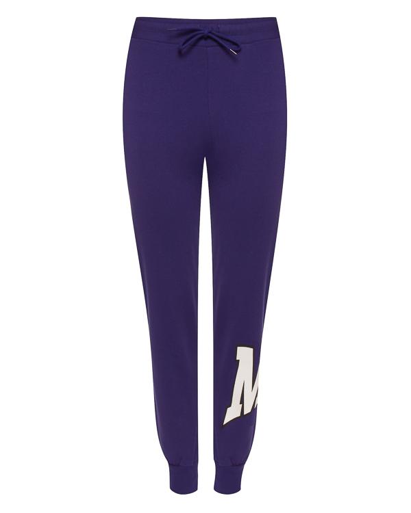 брюки в спортивном стиле с принтом артикул 2641MDP62 марки MSGM купить за 16200 руб.