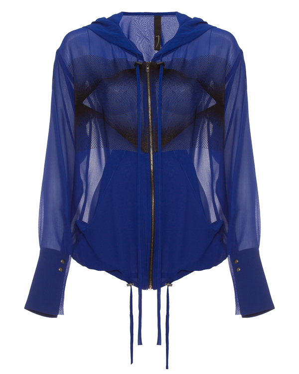 ILARIA NISTRI из полупрозрачного шелка с вышивкой  артикул  марки ILARIA NISTRI купить за 23100 руб.