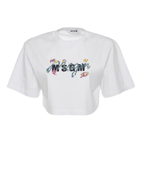 MSGM укороченного силуэта  артикул  марки MSGM купить за 11800 руб.