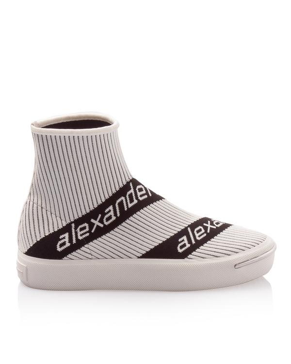 Alexander Wang носки из плотного текстиля с логотипом бренда  артикул  марки Alexander Wang купить за 24700 руб.