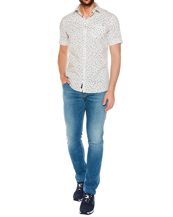 мужская рубашка ARMANI JEANS, сезон: лето 2017. Купить за 6000 руб.   Фото $i