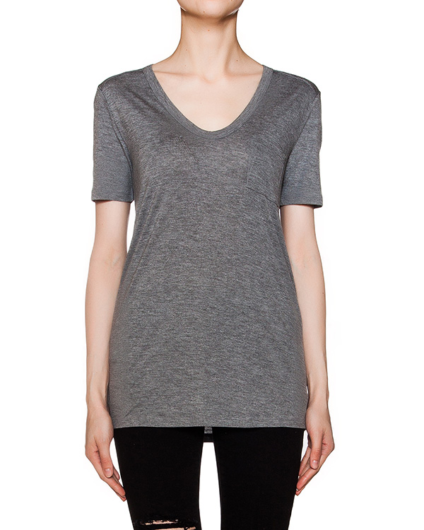 женская футболка T by Alexander Wang, сезон: лето 2016. Купить за 3200 руб.   Фото $i