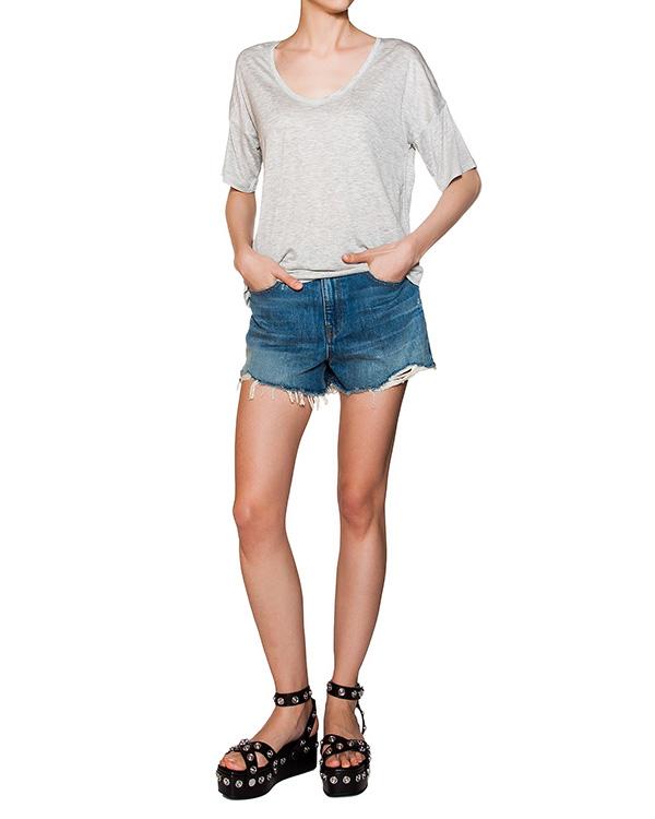 женская футболка T by Alexander Wang, сезон: лето 2016. Купить за 4600 руб. | Фото $i