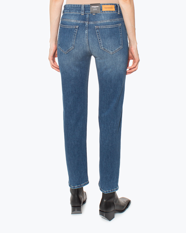 Женская джинсы TOM WOOD, сезон: зима 2021/22. Купить за 21600 руб. | Фото 3