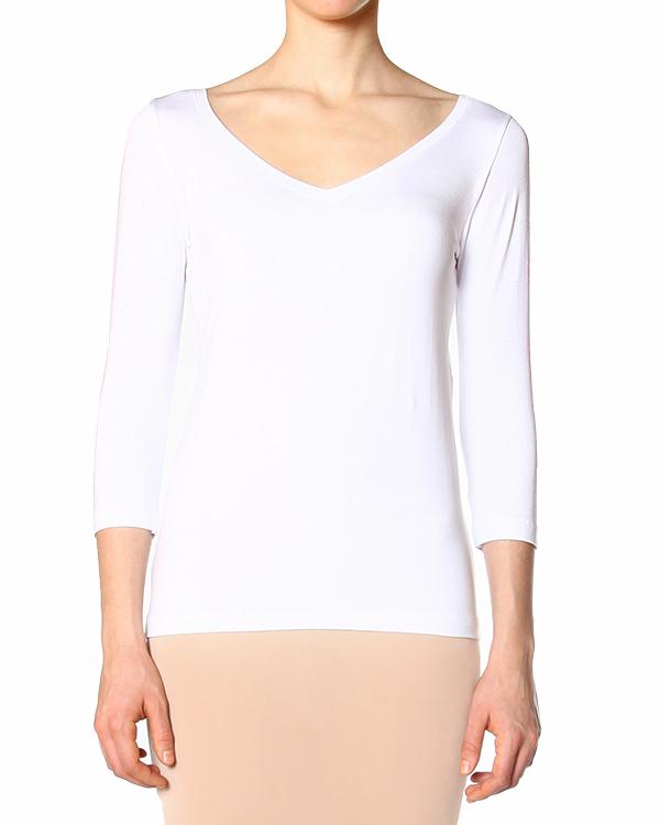футболка из мягкого трикотажа артикул 40470 марки D.EXTERIOR купить за 4600 руб.