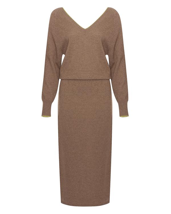 платье из кашемира с вырезом на спине  артикул 404B марки Tegin купить за 37600 руб.