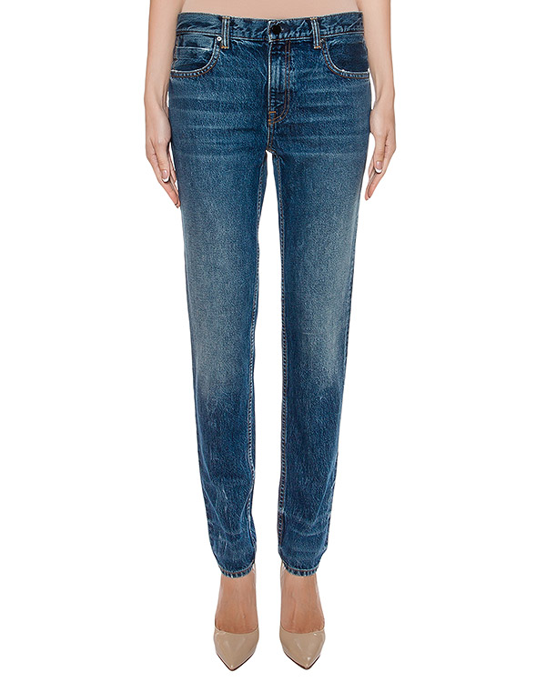 джинсы прямого кроя  артикул 413724C марки T by Alexander Wang купить за 13000 руб.