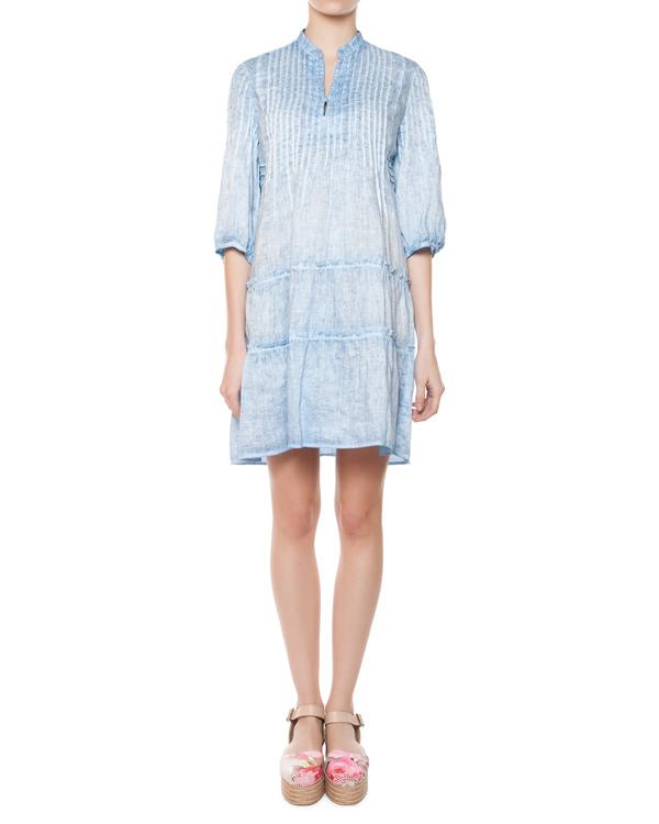 женская платье 120% lino, сезон: лето 2015. Купить за 5500 руб. | Фото 0