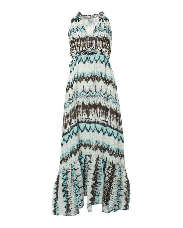 женская платье 120% lino, сезон: лето 2015. Купить за 10100 руб. | Фото 0
