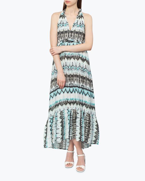женская платье 120% lino, сезон: лето 2015. Купить за 10100 руб. | Фото 1