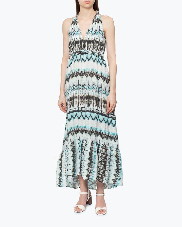 женская платье 120% lino, сезон: лето 2015. Купить за 10100 руб. | Фото 2