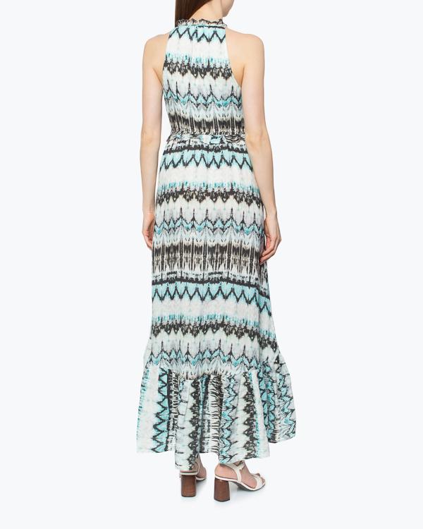 женская платье 120% lino, сезон: лето 2015. Купить за 10100 руб. | Фото 3