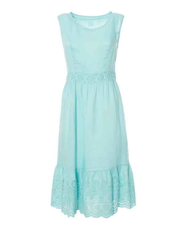 женская платье 120% lino, сезон: лето 2015. Купить за 6200 руб. | Фото 0