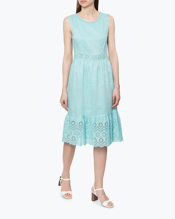 женская платье 120% lino, сезон: лето 2015. Купить за 6200 руб. | Фото 1