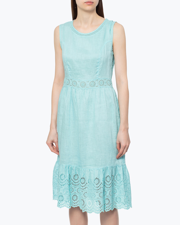 женская платье 120% lino, сезон: лето 2015. Купить за 6200 руб. | Фото 2
