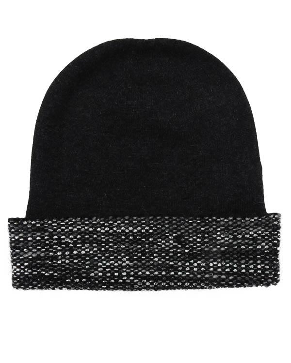 шапка из шерсти с добавлением кашемира, ангоры и мохера артикул 45525 марки D.EXTERIOR купить за 5300 руб.