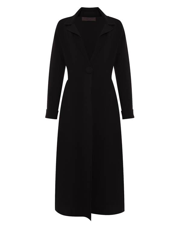пальто из трикотажной шерсти и ангоры  артикул 45546 марки D.EXTERIOR купить за 45200 руб.